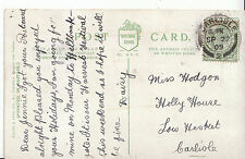 Genealogy Postcard - Family History - Hodgon - Low Hesket - Carlisle    A9323