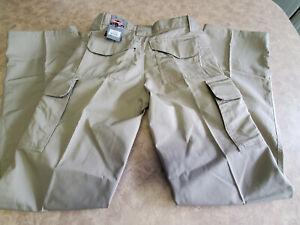 Women's ~TRU-SPEC 24-7 Series Tactical Khaki Unhemmed Pants~ Brand NEW