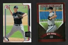 MIKE SOROKA 2015 1ST BOWMAN DRAFT, ELITE PROSPECT ROOKIE LOT (2)(BRAVES).