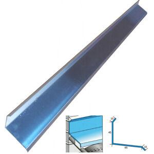 Alu-Wandanschlussprofil 45x65 x 1.000 mm universell verwendbar für flache Dächer