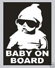 BABY STICKER 4 TODDLER CHILD SAFETY CAR 4WD UTE HELMET COT PRAM NAPPY STROLLER