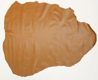 Goatskin Skiver Leather London Tan 8.00 Sq Ft, 0.5-0.7 mm bookbinding