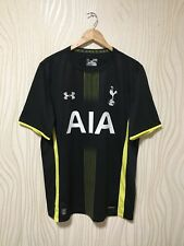 TOTTENHAM HOTSPUR 2014 2015 AWAY FOOTBALL SOCCER SHIRT JERSEY ANDER ARMOUR BLACK