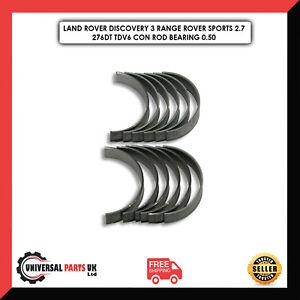 LAND ROVER RANGE ROVER 2.7L 3.0L TDV6 276DT 306DT CONROD BIGEND BEARING SET 0.50