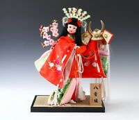 Japanese Geisha Yaegaki Doll / Traditional Percussion Princess Style