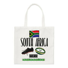 South Africa Rugby Small Tote Bag - Funny League Union Flag Shoulder