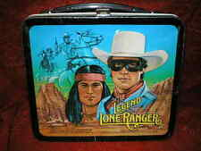 Collectible Vintage 1980 The Legend of The Lone Ranger Metal Lunchbox