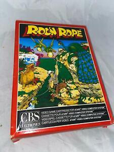 Atari 2600 VCS Original Roc N Rope Open Box Cartridge Video Game 1984 PAL