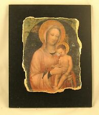 Icon The Madonna & Child- Jacopo Bellini - RARE Small Replica #17-11