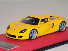 1/43 Tecnomodel Porsche Carrera GT Coupe Yellow 2004 Leather Limited 75 T-EX02