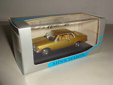 Mercedes-Benz W 123 COUPE 230 CE GOLD METALLIC-Minichamps 1:43!