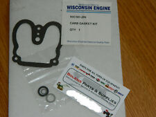 Wisconsin Engine Zenith Carburetor Gasket kit 93C181-296 L57 series VH4D ect.