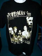 "1999 Vintage : Powerman 5000 ""Tonight The Stars Revolt"" T-Shirt @ Size Xl"