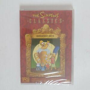 The Simpsons Classics Greatest Hits Compilation DVD Region 4 AUS TV Series