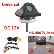 HD 600TVL DC 12V 170°Waterproof Night Vision Car Backup Rear View Reverse Camera