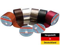 Bitumenband, Aluband, Reparaturband, Dichtband 10 m - 1,5 mm Verschiedene Farben