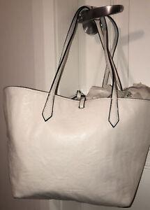Kim Kardashian Cream Bucket Bag
