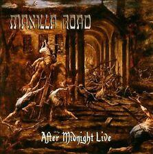 MANILLA ROAD After Midnight Live CD Heavy Power Metal Hard Rock Cirith Ungol
