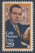 1991 USA ETATS UNIS N°1944** Cole Porter,  Musique, MNH