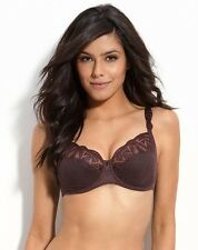Chantelle Fascination full support 3Part Cup Bra 3651 Brown Chocolate 36D $98