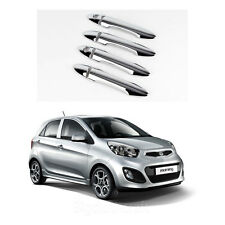 New Chrome Door Handle Catch Cover Molding Trim K491 for Kia Picanto 2011-2012