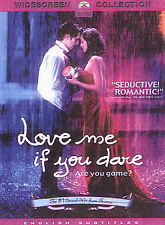 Love Me Si Te Atreves (DVD, 2004) Película extranjera francesa -! envío rápido!