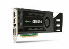 NVIDIA Quadro K4000 - 3GB GDDR5 - DVI-I DL + 2x DP1.2