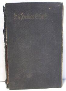 DIE HEILIGE SCHRIFT D MARTIN LUTHERS Berlin 1933 German Holy Scriptures Bible