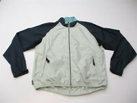 NIKE Women's Size M ACG All Conditions Outer Layer Navy/Teal Windbreaker Jacket