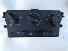 NISSAN MICRA K11 HEATER CONTROL PANEL WITH AIR CON 2001 MODEL GENUINE PART