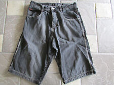 RETRO FUBU LONG DENIM SHORTS MENS 36 HITS BELOW KNEE FREE SHIP