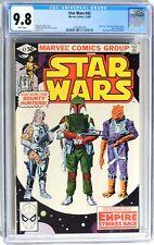 D514 STAR WARS #42 Marvel CGC 9.8 NM/MT (1980) 1st App of BOBA FETT; WHITE Pages