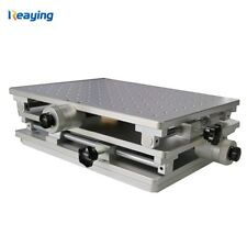 2D worktable Fiber Laser Mark Machine 2 Axis Moving Table