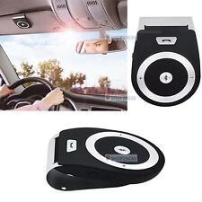 Stereo Bass Wireless Bluetooth Car Kit Speaker Handsfree For Iphone Samsung BT