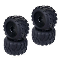 Set of 4pc 1:8 Remote Control Monster Truck RC Buggy Truggy Wheel Rim Tire