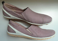 New ECCO Biom Lite Slip-On Leather Nubuck Sneakers Size 38(7.5)