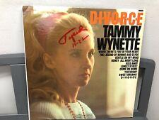 "Tammy Wynette- DIVORCE 12"" LP Epic BN 26392 Country 1968 Near Mint"