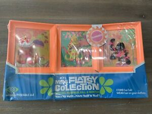 Vintage Ideal Flatsy Doll mini collection SUMMER