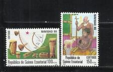 GUINEA ECUATORIAL. Año: 1986. Tema: NAVIDAD.