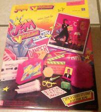 Vtg Hasbro Jem Doll Video Madness Box Set, Original Box, 1986