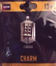 DOCTOR WHO OFFICIAL TARDIS BBC DR JEWELRY SILVER CHARM BEAD EUROPEAN BRACELET
