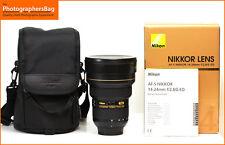 Nikon AF-S Ultra Wide 14-24mm f2.8 G N ED Lens. FREE UK POST