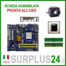 ASROCK N68C-S UCC+ Athlon II X3 440 + 4GB RAM | Kit Scheda Madre AM2 I/O #1921
