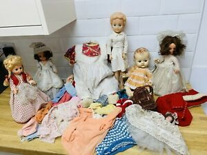 1950s Pedigree Baby Doll Clothes & Antique & Other Musical Plastic Teenage Doll