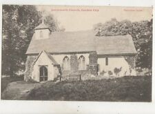 Letchworth Church Garden City Hertfordshire 1903 Postcard 546b