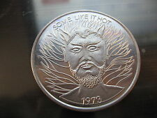 satan devil some like it hot 1973 Mardi Gras Doubloon Coin new orleans SALE