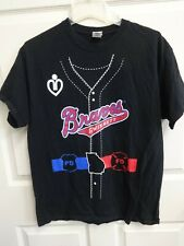 EUC MiLB Minor League Baseball Gwinnett Braves SGA Jersey T-Shirt Men Large