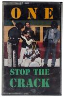 ONE Stop The Crack CASSETTE TAPE Single SEALED NEW 80s Wilmington DE Reggae RARE