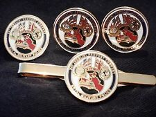 247 Berlin Provost Guard RMP Military Police Cufflinks, Badge, Tie Clip Gift Set