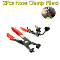 New 2Pcs/Set Hose Clamp Pliers Swivel Jaw Locking Removal Tools For Car Repair